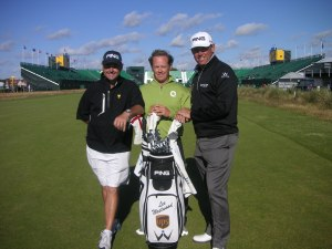 Billy Foster, myself and Lee Westwood